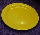 Hollywood Craftsman yellow dessert plate  6 3/8""