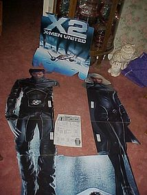 X-2 X-men United movie dispay header in pkg