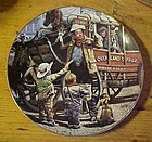 The desperados Children of the American frontier plate