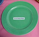 HLC Harlequin luncheon plate hard to find green  9 1/4""