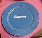 HLC Harlequin mauve blue luncheon plate 9 1/4""