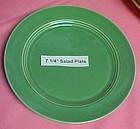 """HLC Harlequin green salad plate 7 1/4"""""""