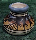 Authentic Navajo miniature vase signed