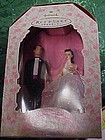 1997 Barbie & Ken wedding day Hallmark ornament MIB