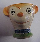 Vintage hand painted bear toothpick holder or egg cup