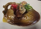 Vintage ceramic squirrel dish possibly ashtray
