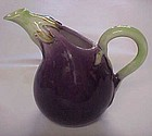Fitz & Floyd eggplant pitcher 2 cup capacity