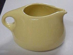 Russel Wright Iroquois lemon yellow stacking creamer