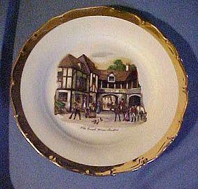 Czechoslovakia plate The old Coach House Stratford