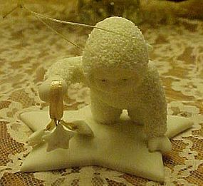 Dept 56 Snowbabies ornament Gathering the stars in the