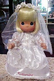 Precious Moments Communion doll Christina Katherine