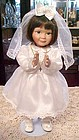 Michelle-Girard Kassis porcelain communion doll