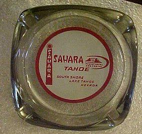 Vintage Sahara Tahoe souvenir casino ashtray