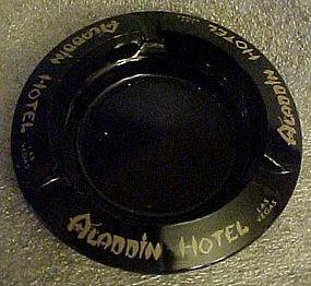 Vintage Aladdin Hotel souvenir casino ashtray Las Vegas
