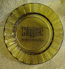 John ascuaga's Nugget souvenir casino ashtray reno