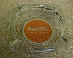 Harrah's Reno and Lake Tahoe souvenir casino ashtray