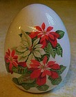 Avon Gifts of Nature Porcelain egg Winter