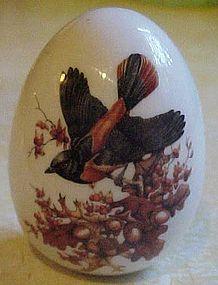 Avon Gifts of Nature porcelain egg Autumn
