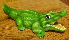 Vintage Audre' California Alligator Crocodile figurine