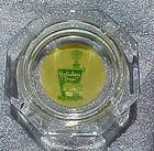 Vintage Holiday Inn Hotel  glass souvenir ashtray