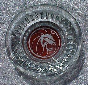 Vintage MGM Grand Hotel casino souvenir ashtray