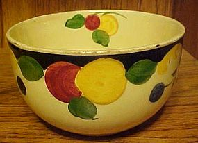 Vintage Royal Ivory Titian ware fruit bowl England
