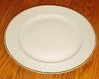 Nippon china #66 white with gold trim bread and butter