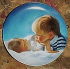 Brotherly Love collectors plate by Donald Zolan