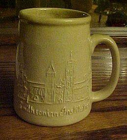 Bennington pottery souvenir mug Smithsonian Institute