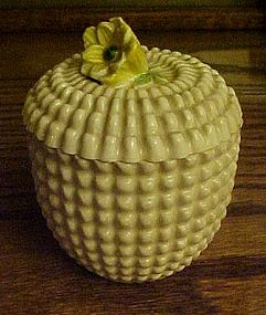 Vintage Maruhon Japan Maw1 jelly / jam jar (K)