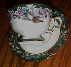 Lena Liu's Rufous Hummingbird cup and saucer Bradford