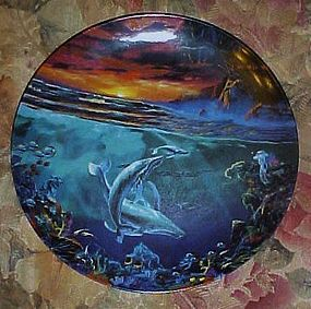 World beneath the waves by Dale TerBush third plate