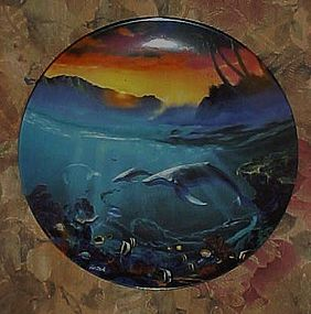 World beneath the waves by Dale TerBush second plate
