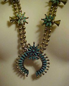 Vintage faux double squash blossom necklace Park Lane?