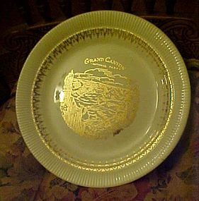 Vintage Grand Canyon National Park souvenir plate USA