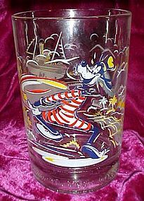 McDonalds Disney Remember the Magic Goofy glass