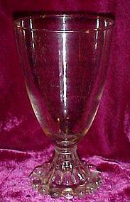 "Anchor Hocking Berwick Boopie water goblet 5 1/2"""