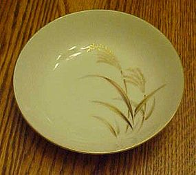 Harmony House Fine China Golden Wheat fruit/sauce bowl