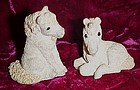 Stone Critter babies unicorn  figurines SCL-025 SCB-132