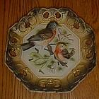 Vintage Napcoware 3-D  Robin's  bird plate
