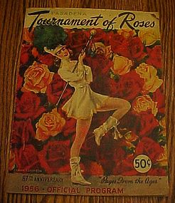 1956 Tournament of Roses 67th anniversary  Program