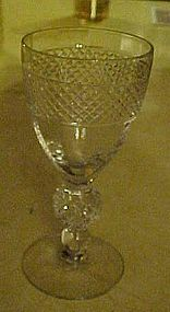 "Morgantown Eton pattern 4 3/4""  wine glass"