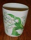 LEC Limoges Lily of the Valley tumbler