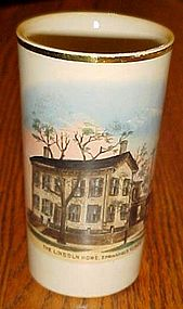 The Lincoln Home Springfield Illinois English pottery