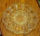 Anchor Hocking #896 crystal deviled egg plate