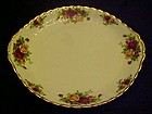 Royal Albert Old Country Roses cake or  sandwich plate