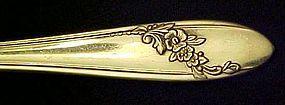 Tudor Oneida Community Queen Bess II salad fork