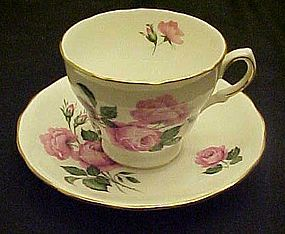 Vintage Royal Vale #8217  bone china tea cup and saucer