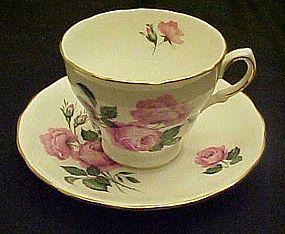 Vintage Royal Vale #8217  bone china tea cup and saucer