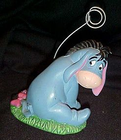 Disney Eeyore photo, note card, memo holder